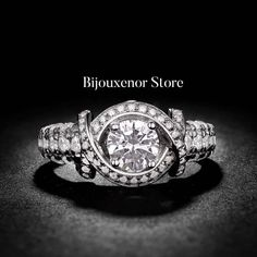 Ct Enhanced Round Cut Diamond Engagement Ring White Gold for sale online Engagement Ring Buying Guide, Cushion Cut Engagement Ring, Round Cut Engagement Rings, Solitaire Engagement, Round Cut Diamond, Diamond Cuts, Gold For Sale, White Gold Jewelry, Or Rose