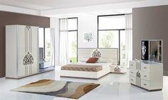Motifli Modern Yatak Odası  http://www.evmoda.com.tr/urun/motifli-modern-yatak-odasi-.aspx