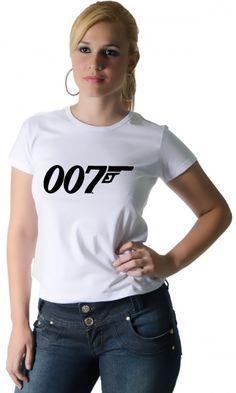 Camiseta 007 - Reis Online Camisetas Personalizadas