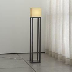 Aerin Antique Bronze Floor Lamp | Crate and Barrel