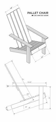 A new project! I'm working on a chair design that will be made of one pallet only. Tools will include a saw and a hammer. Extensive woodwo...