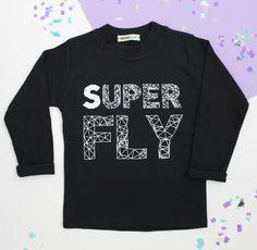 Our Best Selling Super Fly y-shirt £12.50 www.lennieandco.bigcartel.com