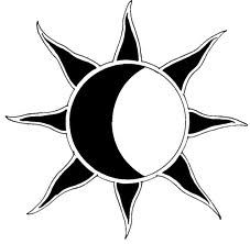 small simple sun and moon tattoo - Google Search
