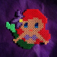 Ariel perler beads by violetsolace
