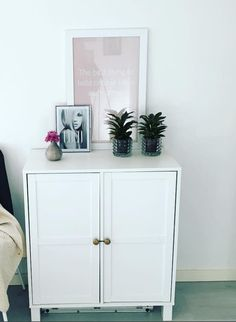 Hide your clutter in a Assa sideboard and style it elegantly like lindapalmber on Instagram