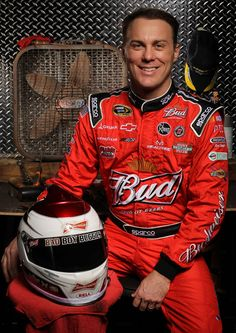 Kevin Harvick Kevin Harvick, driver of the #29 Budweiser Chevrolet, poses during NASCAR Media Day at Daytona International Speedway on Febru...