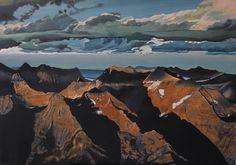 "Saatchi Online Artist: Mario Bonini; Oil, 2013, Painting ""Cattedrali della Terra - Opera IX"""