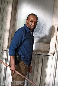 Our first look at Morgan in season 7