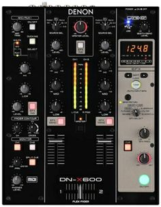 Denon DJ Prime DJ Mixer with Effects and Serato Compatibility Native Instruments, Music Instruments, Mixer Accessories, Music Recording Studio, Booth, Usb, Recorder Music, Dj Equipment, 4 Channel