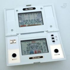 Nintendo Game & Watch OIL PANIC - cyan74.com - vintage & pop culture | SOLD