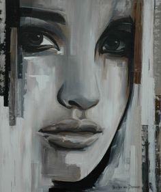 """Saatchi Online Artist: Hesther Van Doornum; Acrylic, 2010, Painting """"Whisper (sold)"""""""