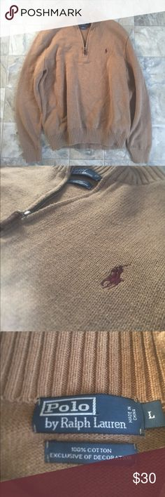 Ralph Lauren pull over Perfect Ralph Lauren pull over. 100% cotton size large. Polo by Ralph Lauren Sweaters