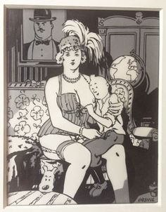 Hergé (et Tintin) au Grand Palais - evous Gravure Illustration, Robert Crumb, Adult Humor, Comic Artist, Illustrations, Caricature, Creative Art, Erotic, Grand Palais