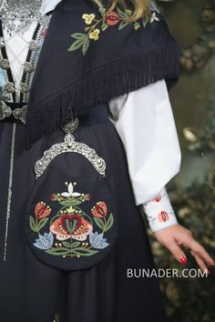 Scandinavian Embroidery, Cute Designs, Folklore, Norway, Vests, Bomber Jacket, Costumes, Traditional, Patterns