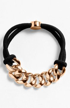 MARC BY MARC JACOBS 'Turnlock' Cord Bracelet | Nordstrom