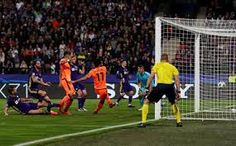 NK Maribor 0 Liverpool 7 in Oct 2017 at Ljudski vrt. Mo Salah makes it after 19 minutes in the Champions League Group E clash. Mo Salah, Liverpool Fc, Champions League, Portal, Soccer, Oct 2017, Group, Futbol, European Football