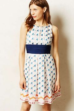 Anthropologie - Waltham Embroidered Dress