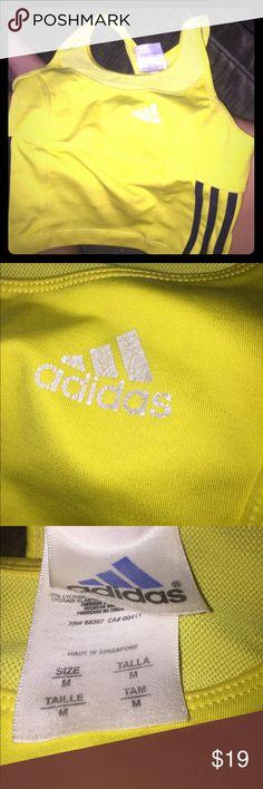 Adidas built in bra work out crop top Authentic adidas summer 2017 crop top with built in bra adidas Tops Crop Tops