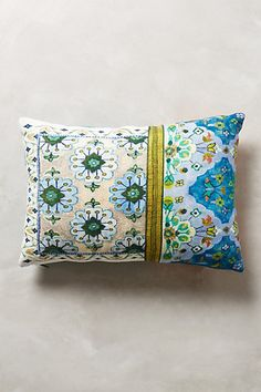 Two for brown chairs-Pirra Pillow #anthropologie