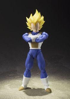 Vegeta Super Saiyajin SHFIGUARTS Bandai Dragon Ball Action Figure