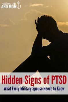Signs of PTSD every military spouse needs to know.