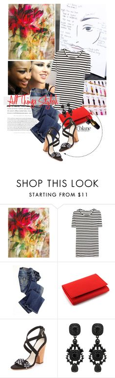 """""""All things Stylish"""" by cutandpaste ❤ liked on Polyvore featuring Isabel Marant, Backstage, Jean-Paul Gaultier, T By Alexander Wang, Vegetarian Shoes, Madison Harding, Forever New and Chanel"""