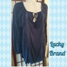Selling this Nwt Lucky brand hi lo hem top sz lg in my Poshmark closet! My username is: banzman55. #shopmycloset #poshmark #fashion #shopping #style #forsale #Lucky Brand #Tops