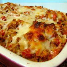 Bruschetta Chicken Bake replace bread with cauliflower