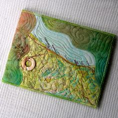 quilted map