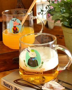 cup - http://zzkko.com/n217836-reative-home-zakka-nap-manor-transparent-glass-cup-cartoon-cup-Milk-temperature-breakfast.html $8.15