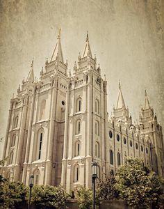 Salt Lake City LDS Temple    #MormonLink #LDSTemples