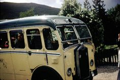 1956 approx: Dodds' of Troon Luxury Coach, Wester Ross, Scotland - 1