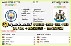 Prediksi Skor Bola Manchester City vs Newcastle United 21 Jan 2018 Liga Primer Inggris pada hari Minggu jam 00.30 WIB di Etihad Stadium (Manchester), dan akan disiarkan langsung di Beinsport 2