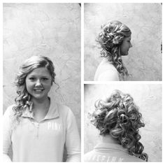Updos!!! Long hair updo #prom done by Tera at Hollywood style