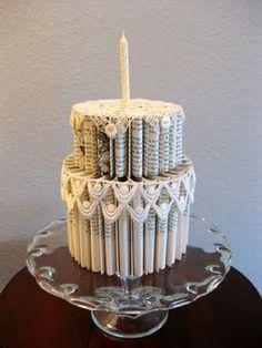 paper cake