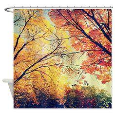 CafePress Autumn Embrace Shower Curtain Shower Curtain - Standard White CafePress http://www.amazon.ca/dp/B00MHD4EZU/ref=cm_sw_r_pi_dp_ETkjwb0HVY0GH