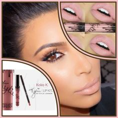 COMING SOONKylie Lip KitKoko KBNIB NO TRADESPRICE WILL BE FIRM @$50 (when becomes available) DO NOT BUYPrice will drop to $50   #KylieLipKit by Kylie Jenner | Koko K  KoKo K is a pale, pinky nude. The #KylieLipKit is your secret weapon to create the perfect 'Kylie Lip.' Each Lip Kit comes with a Matte Liquid Lipstick and matching Lip Liner.  Contains:  1 Matte Liquid Lipstick (0.11 fl oz./oz. liq / 3.25 ml)  1 Pencil Lip Liner (net wt./ poids net  .03 oz/ 1.0g) Kylie Cosmetics Makeup…