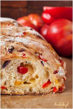 Pizza bread - recipes step by step / Chlebek pizza krok po kroku ilovebake.pl #pizza #bread #recipes