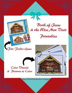 Birth of Jesus Printables