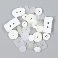 Assortimento di bottoni – BLANCO