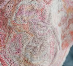 Embroidery work by Yumiko Arimoto for her brand Sina. WOW.