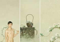 Photographer Sun Jun: Modern techniques fused with traditional elements – Nee Hao Magazine Chinese Style, Chinese Art, Photoshoot Inspiration, Style Inspiration, Art Photography, Fashion Photography, Gay Art, Chinese Painting, China Fashion