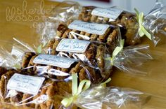 cute cookie gift packaging for Christmas