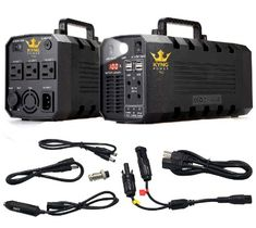 Kyng Power Solar Generator Portable Power Station UPS Battery Continuous Peak Emergency Generator Rechargeable Inverter with 3 AC Outlet, Car 4 USB Free Solar Panel Cable Free Solar Panels, Solar Energy Panels, Best Solar Panels, Emergency Generator, Solar Generator, Portable Generator, Pomes, Solar Panel Installation, Solar Energy System