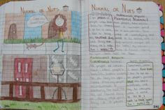 Always Write: One of my Original Lesson Ideas for Writer's Notebooks.Normal or Nuts? Pre Writing, Writing Lessons, Writing Process, Writing Programs, Writing Assignments, Daily Holidays, Readers Notebook, Literature Circles, Online Lessons