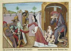Évrart de Conty, Les Échecs amoureux, France 1496-1498. BnF MS fr. 143, f. 28
