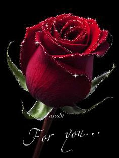 Rose for you 🍃🌹 Beautiful Rose Flowers, Beautiful Gif, Love Flowers, Rose Flower Wallpaper, Flowers Gif, Rose Images, Flower Images, Osiris Tattoo, Beau Gif
