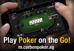 Play poker on the go