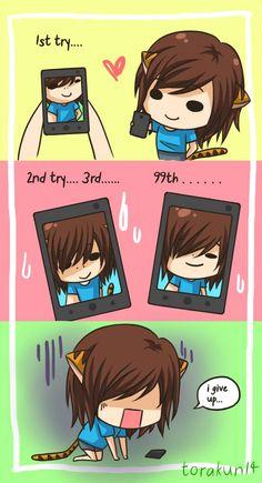 Torakun Comics :: Taking a selca/selfie... | Tapastic - image 1