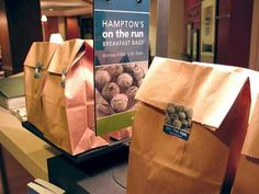Hampton Inn Monroeville offers Breakfast to go bags if you are in a hurry. http://pinterest.com/hamptoninnmonro/ #hamptoninnmonroeville http://www.facebook.com/#!/HamptonInnMonroeville #pittsburghhotel #hotels #monroeville #pittsburgh #pa #hamptoninn #business #vacation #travel #hamptoninnmonroeville #group #wedding #sports #hilton #hiltonhonors #hotel